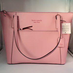 Kate Spade Cameron Monotone Pocket Tote Pink